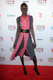 Alek Wek Photo - April 6 2016 New York CityAlek Wek arriving at the 7th Annual Women In The World Summit opening night at the David H Koch Theater at the Lincoln Center on April 6 2016 in New York CityCredit Kristin CallahanACE Picturestel 646 769 0430