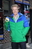 Ted Ligety Photo - February 25 2014 New York CityUS Olympic Gold Medal Winner Ted Ligety arriving to tape an appearance on the Late Show with David Letterman on February 25 2014 in New York City