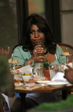Aretha Franklin Photo - Singer Aretha Franklin seen in a restaurant in Manhattan on April 27 2009