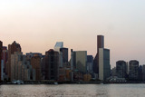 MANHATTAN SKYLINE Photo - Blackout in New York City as the result of complete loss of power dark Manhattan skyline at dawn New York August 14 2003