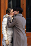 Carrie-Anne Moss Photo - March 24 2015 New York CityActresses Rachael Taylor (L) and Carrie-Anne Moss shoot a scene for the TV show AKA Jessica Jones on March 24 2015 in New York CityBy Line Zelig ShaulACE PicturesACE Pictures Inctel 646 769 0430