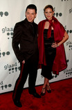 Melrose Bickerstaff Photo - Designer Malan Breton and Melrose Bickerstaff arrive at the 18th Annual GLAAD Media Awards held at the Marriott Marquis Hotel