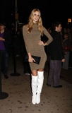 Julia Stegner Photo - Victorias Secret model Julia Stegner arriving at the Screening of 21 hosted by The Cinema Society and Calvin Klein Jeans at the IFC Center in downtown Manhattan
