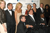 AL ROCKER Photo - 12th Annual Magical Birthday Bash to benefit the Christopher Reeve Paralysis Foundation at the Marriott Marquis Pictured are (L to R) Paula Zahn Ron Meyer Kim Catrall Robin Williams Christopher Reeve Barbara Walters Catherine Zeta-Jones and Michael Douglas Deborah Roberts and husband Al Rocker New York September 25 2002