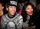 The Blonds Photo - February 12 2014 New York CityPerez Hilton and Lil Kim at the The Blonds fashion show during MADE Fashion Week Fall 2014 at Milk Studios on February 12 2014 in New York City