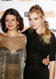 Alias Photo - September 10 2015 TorontoActresses Alia Shawkat (l) and Imogen Poots at the premiere of The Green Room during the 40th Toronto International Film Festival at the Ryerson Theatre in Toronto Canada on 10 September 2015By Line FamousACE PicturesACE Pictures Inctel 646 769 0430