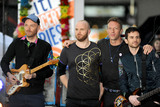 Jonny Buckland Photo - March 14 2016 New York CityColdplay performing in concert on NBC TODAY at Rockefeller Plaza on March 14 2016 in New York CityCredit Kristin CallahanACETel (646) 769 0430