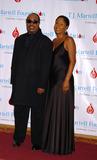 Aisha Morris Photo - Singer Stevie Wonder and his daughter Aisha Morris at the TJ Martell Foundation Awards Gala at the Hilton Hotel in New York City where Wonder received an award May 27 2004