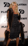 Playboy Magazine Photo - Victoria Silvstedt at the celebration of the 50th Anniversary of Playboy Magazine New York November 5 2003