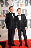 Ant  Dec Photo - February 24 2016 LondonAnt  Dec arriving at the BRIT Awards 2016 at The O2 Arena on February 24 2016 in London EnglandBy Line FamousACE PicturesACE Pictures Inctel 646 769 0430