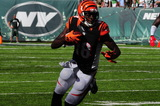AJ Green Photo - NEW YORK NY- SEPTEMBER 11A J Greene in action at the NY Jets vs The Cincinnati Bengals game on September 11 2016 ay Met Liffe Stadium in East Rutherford New Jersey(Jeffrey GellerImageCollectcom)