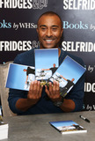 Colin Jackson Photo - Colin Jackson signs copies of his book My Sporting Icons to mark the London 2012 Olympics at Selfridges London 01082012 Picture by Henry Harris  Featureflash