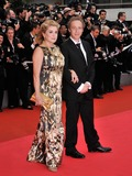Arnaud Desplechin Photo - Catherine Deneuve  director Arnaud Desplechin at the closing gala ceremony at the 61st Annual International Film Festival de Cannes May 25 2008  Cannes FrancePicture Paul Smith  Featureflash