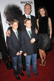 Francois Pienaar Photo - South African rugby star Francois Pienaar  family at the Los Angeles premiere of Invictus at the Academy of Motion Picture Arts  Sciences TheatreDecember 3 2009  Beverly Hills CAPicture Paul Smith  Featureflash