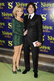 Amanda Holden Photo - Amanda Holden and her husband Chrisarrives for the 1st night party of Shrek The Musical at Somerset House London 14062011  Picture by Steve Vas  Featureflash