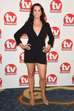Andrea Mclean Photo - Andrea McLean arriving for the TV Choice Awards 2014 at the Hilton Park Lane London 08092014 Picture by Steve Vas  Featureflash