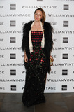 Alice Temperley Photo - Alexandra Roach arrives for the WilliamVintage Dinner at the Renaisance Hotel StPancras London 14022014 Picture by Steve Vas  Featureflash