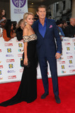 Hayley Roberts Photo - David Hasselhoff and Hayley Roberts arriving for the Pride of Britain Awards 2015 London 28092015 Picture by Kat MandersFeatureflash