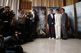 Tony Leung Photo - Actors JACKIE CHAN (in white)  TONY LEUNG KA FAI (left) director STANLEY TONG at the 58th Annual Film Festival de Cannes to promote their new movie The MythMay 17 2005 Cannes France 2005 Paul Smith  Featureflash