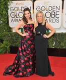 AMY POHLER Photo - Tina Fey  Amy Pohler (right) at the 71st Annual Golden Globe Awards at the Beverly Hilton HotelJanuary 12 2014  Beverly Hills CAPicture Paul Smith  Featureflash