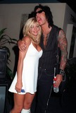 Nicki Sixx Photo - 10JUL97  Baywatch star DONNA DERRICO  husband Motley Crue guitarist NICKI SIXX at the Video Software Dealers Assoc convention in Las Vegas