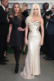 Allegra Versace Photo - Donatella and Allegra Versace arriving for the Glamour Women Of The Year Awards 2012 at Berkeley Square London 29052012 Picture by Alexandra Glen  Featureflash
