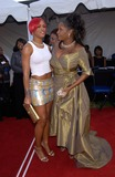 Lena Horne Photo - Singers PATTI LABELLE (right)  EVE at the 7th Annual Soul Train Lady of Soul Awards in Santa Monica California Patti was honored with the Lena Horne Lifetime Achievement Award28AUG2001   Paul SmithFeatureflash