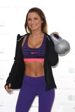 Train Photo - Sam Faiers launches her fitness website Celebrity Training with Samantha at the Worx London 06012015 Picture by James Smith  Featureflash