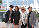 Nicole Garcia Photo - Actors Marion Cotillard Louis Garrel Alex Brendemuhl  director Nicole Garcia at the photocall for From the Land of the Moon (Mal de Pierres) at the 69th Festival de CannesMay 15 2016  Cannes FrancePicture Paul Smith  Featureflash