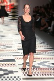 Andrea Dellal Photo - Andrea Dellal at the LFW Fashion For Relief charity fashion show - catwalk held at Somerset house London 19022015 Picture by James Smith  Featureflash
