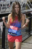 Charlie Webster Photo - Charlie Webster at the photocall for celebs running the 2014 London Marathon London 09042014 Picture by Steve Vas  Featureflash