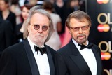 ABBA Photo - Benny Andersson Bjorn Ulvaeus ABBA arrives for the Laurence Olivier Awards 2014 at the Royal Opera House Covent Garden London 13042014 Picture by Henry Harris  Featureflash