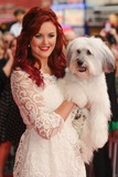 Ashleigh Butler Photo - Ashleigh Butler and Pudsey arriving for the premiere of Pudsey the Dog the movie at the Vue cinema Leicester Square London 13072014 Picture by Steve Vas  Featureflash