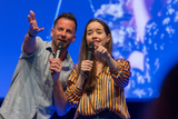 Craig Parker Photo - BONN GERMANY - MARCH 24 (L to R) Actors Craig Parker  Anna Popplewell (Narnia) panel at MagicCon a three-day fantasy  mystery fan convention