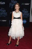 Ava Kolker Photo - Ava Kolker 11292018 The World Premiere of Mary Poppins Returns held at The Dolby Theatre in Los Angeles CA Photo by Izumi Hasegawa  HollywoodNewsWireco