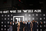 JK Simmons Photo - Diane Lane Joe Morton JK Simmons Gal Gadot Ray Fisher Connie Nielsen Ezra Miller Jason Momoa Ben Affleck Amber Heard Jason Mamoa Henry Cavill 11132017 The World Premiere of Justice League held at The Dolby Theater in Hollywood CA Photo by Izumi Hasegawa  HollywoodNewsWireco