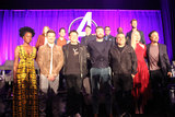 Joseph Russo Photo - Danai Gurira Karen Gillan Jeremy Renner Paul Rudd Anthony Russo Kevin Feige Chris Evans Robert Downey Jr Joseph Russo Don Cheadle Brie Larson Chris Hemsworth Mark Ruffalo 04072018 Avengers Endgame Press Conference held at The InterContinental Los Angeles Downtown in Los Angeles CA Photo by Izumi Hasegawa  HollywoodNewsWireco