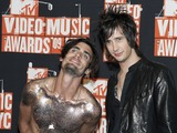 All-American Rejects Photo - Tyson Ritter and Nick Wheeler (R) of All-American Rejects photographed in the press room during the 2009 MTV Video Music awards in New York City NY USA on September 13 2009