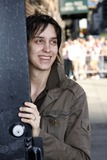 Julian Casablancas Photo - Strokes lead singer Julian Casablancas arrives to the taping of The Late Show With David Letterman on May 4 2006 in