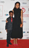 Alex Hibbert Photo - LondonUK  Alex Hibbert and Naomie Harris  at the London Critics Circle Film Awards 2017 The May Fair Hotel Stratton Street London England UK on Sunday 22 January 2017  RefLMK315-62696-230117Can NguyenLandmark MediaWWWLMKMEDIACOM