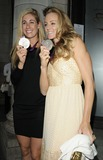 April Ross Photo - LondonUK American Olympic silver medal winners in the beach volleyball   April Ross ( left )  Jennifer Kessy  at  the Prince Albert II of Monaco Olympians Reception Old Burberry Building Haymarket London 9th August 2012  Can NguyenLandmark Media