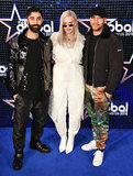 Anne Marie Photo - London UK Anne-Marie and Rudimental at The Global Awards held at Eventim Apollo Hamersmith London on Thursday 1 March 2018 Ref LMK392-J1601-020318Vivienne VincentLandmark Media WWWLMKMEDIACOM