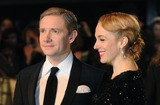 Amanda Abbington Photo - London UK  121212Martin Freeman and Amanda Abbington at the Royal Film performance of The Hobbit An Unexpected Journey held at The Empire Leicester Square23 October 2012Landmark Media