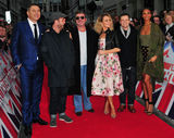 Alesha Dixon Photo - London UK David Walliams Anthony McPartlin Simon Cowell Amanda Holden Declan Donnelly and Alesha Dixon  at  Britains Got Talent Judges Photocall on the Red Carpet at the London Palladium London on Sunday January 28th 2018Ref LMK315-J1470-290118Can NguyenLandmark MediaWWWLMKMEDIACOM