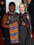 Andrea Risborough Photo - London UK  Phyll Opoku-Gyimah and Andrea Risborough at EE British Academy Film Awards 2018 - Red Carpet Arrivals at the Royal Albert Hall London on Sunday February 18th 2018 Ref LMK73 -J1591-190218Keith MayhewLandmark Media WWWLMKMEDIACOM