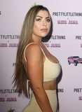 Abi Clarke Photo - LondonUK Abi Clarke   at the PrettyLittleThing x Maya Jama Launch Party at MNKY HSE Dover Street 25 June 2018Ref LMK73-S1475-260618Keith MayhewLandmark Media WWWLMKMEDIACOM
