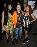 Alexandra Buggs Photo - London UK Stooshe ( Alexandra Buggs Courtney Rumbold and Karis Anderson  at the GUETTAMRBRAINWASH electronica music and urban art party held at The Old Sorting Office 1st August 2012Can NguyenLandmark Media