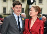 Sam Riley Photo - London UK Sam Riley Rosamund Pike at Radioactive UK Premiere held at Cuzon Mayfair London on Sunday 8 March 2020 Ref LMK392-2982-080320Vivienne VincentLandmark Media WWWLMKMEDIACOM