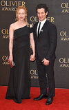 Angela Christian Photo - London UK Angela Christian and Thomas Kail at The Olivier Awards 2018 held at The Royal Albert Hall Kensington Gore South Kensington London on Sunday 8 April 2018Ref LMK392-J1868-090418Vivienne VincentLandmark Media WWWLMKMEDIACOM