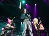 Nita Strauss Photo - London UK Alice Cooper  and Nita Strauss performing live at The first Stone Free Festival at the O2 Arena London on June 18th and 19th 2016Ref LMK73-60326-200616Keith MayhewLandmark Media WWWLMKMEDIACOM